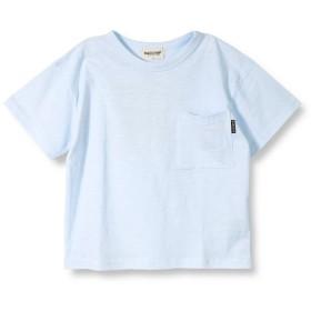 【25%OFF】 ブランシェス バックプリント半袖Tシャツ(90~140cm) レディース サックス 100cm 【branshes】 【セール開催中】
