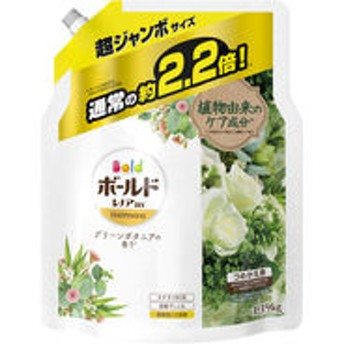 【アウトレット】P&G ボールドジェル グリーンボタニアの香り 詰め替え 超ジャンボサイズ 1390g 1個