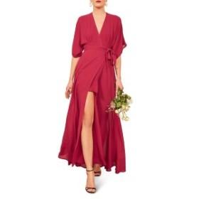 リフォメーション レディース ワンピース トップス Reformation Winslow Maxi Dress Rhubarb