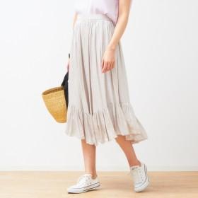 [マルイ]【セール】裾切替ギャザースカート/ルージュ・ヴィフ ラクレ(Rouge vif la cle)