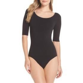 ユミ レディース ワンピース トップス Yummie Ballet Bodysuit Black