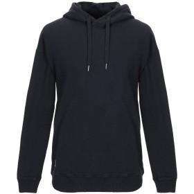 《期間限定セール開催中!》BLACK KAVIAR メンズ スウェットシャツ ブラック S コットン 100%
