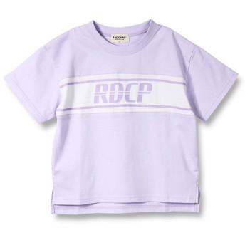 【25%OFF】 ブランシェス ロゴ半袖Tシャツ(90~140cm) レディース ラベンダー 90cm 【branshes】 【セール開催中】