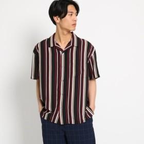 [マルイ]【セール】【WEB限定】ビッグシルエットストライプ開襟シャツオープンカラーシャツ/ザ ショップ ティーケー(メンズ)(THE SHOP TK Mens)