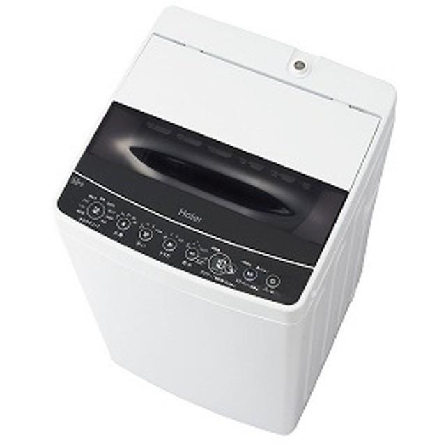 ハイアール 全自動洗濯機 [洗濯5.5kg] JW-C55D-K ブラック