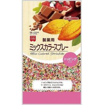 共立食品 製菓用ミックスカラースプレー 120g まとめ買い(×6)|4901325300799(tc)