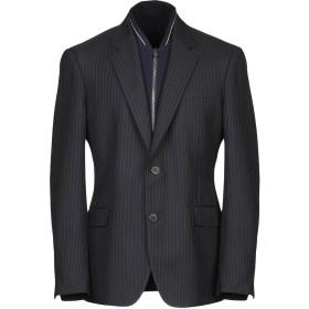 《セール開催中》ALEXANDER MCQUEEN メンズ テーラードジャケット ダークブルー 50 バージンウール 100% / レーヨン / ポリエステル / シルク / ナイロン