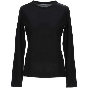 《セール開催中》MOVER レディース T シャツ ブラック XL ウール 100%