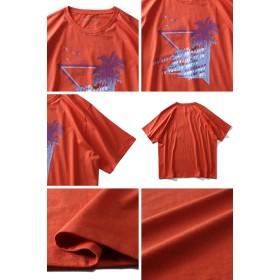 Tシャツ - 大きいサイズの店ビッグエムワン 大きいサイズ メンズ DANIEL DODD オーガニック プリント 半袖 Tシャツ THE BEST WAY 春夏新作azt-190253