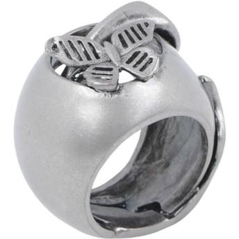《セール開催中》VALENTINO GARAVANI レディース 指輪 鉛色 4 金属