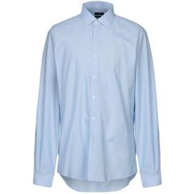 《セール開催中》LIU JO MAN メンズ シャツ スカイブルー 44 コットン 100%
