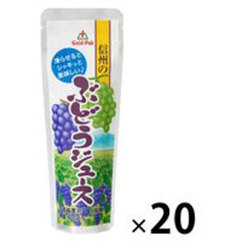 ゴールドパック 信州のぶどうジュース(パウチ)90g 1箱(20本入)