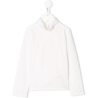 Chloé Kids ラッフルトリム Tシャツ - ホワイト