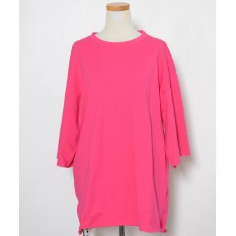 Tシャツ - ShopNikoNiko 春新作 ビッグサイズTシャツ ma トップス Tシャツ レディース オーバーサイズ ビッグサイズ シンプル