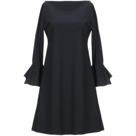 《セール開催中》CHIARA BONI LA PETITE ROBE レディース ミニワンピース&ドレス ブラック 40 ナイロン 72% / ポリウレタン 28%