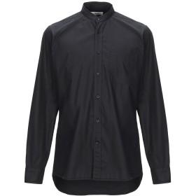 《期間限定セール開催中!》MAURO GRIFONI メンズ シャツ ブラック 40 コットン 100%