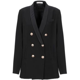 《セール開催中》MANGANO レディース テーラードジャケット ブラック L コットン 100%