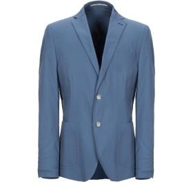 《期間限定セール開催中!》EXIBIT メンズ テーラードジャケット ブルーグレー 52 コットン 97% / ポリウレタン 3%