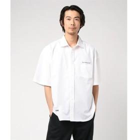 [マルイ]【セール】グラフィック5分袖BIGシャツ/ウィゴー(メンズ)(WEGO)