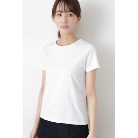 <HUMAN WOMAN/ヒューマンウーマン> 半袖Tシャツ(0779960300) ホワイト 【三越・伊勢丹/公式】