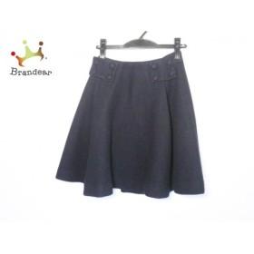 ミュラーオブヨシオクボ muller of yoshiokubo スカート サイズ36 S レディース 美品 黒 新着 20190613