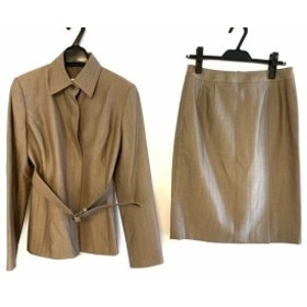 ニューヨーカー NEW YORKER スカートスーツ サイズ11 M レディース ブラウン【中古】