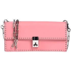 《セール開催中》VALENTINO GARAVANI レディース メッセンジャーバッグ ピンク 革