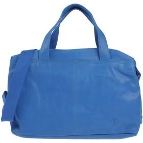 《期間限定セール開催中!》TIMBERLAND レディース 肩掛けバッグ ブルー 革