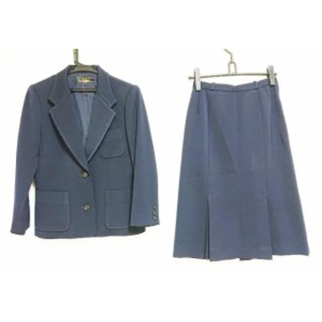 f44106ea16d7f4 レリアン Leilian スカートスーツ サイズ9 M レディース ネイビー【中古 ...