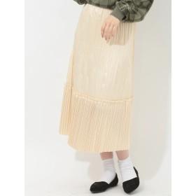 【6,000円(税込)以上のお買物で全国送料無料。】しわプリーツスカート