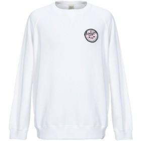 《セール開催中》DOLFIE メンズ スウェットシャツ ホワイト M コットン 100%