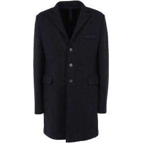 《期間限定セール開催中!》HARRIS WHARF LONDON メンズ コート ダークブルー 50 バージンウール 41% / ウール 24% / ナイロン 14% / シルク 12% / レーヨン 9%