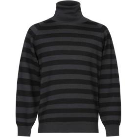 《セール開催中》MAURO GRIFONI メンズ タートルネック ブラック 50 バージンウール 100%