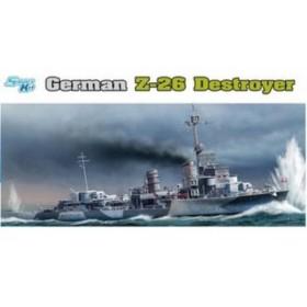 青島文化教材社 1064 ドラゴン 1/350 ドイツ海軍駆逐艦 Z-26