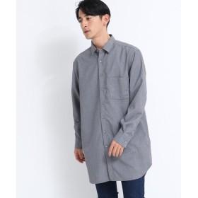 tk.TAKEO KIKUCHI(ティーケー タケオ キクチ) ◆ロングシャツ