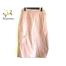 バレンチノ VALENTINO スカート サイズ8 M レディース 美品 ライトブラウン   スペシャル特価 20190907