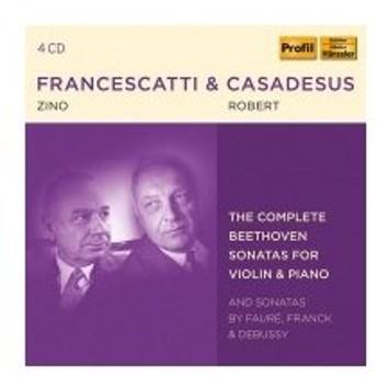 Beethoven ベートーヴェン / ジノ・フランチェスカッティ&ロベール・カサドシュ名演集〜ベートーヴェン:ヴァ