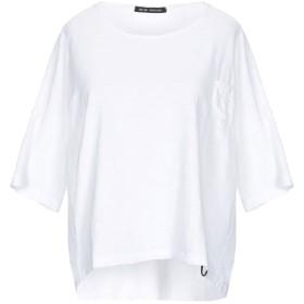 《期間限定セール開催中!》NEVER ENOUGH レディース T シャツ ホワイト XS 100% コットン