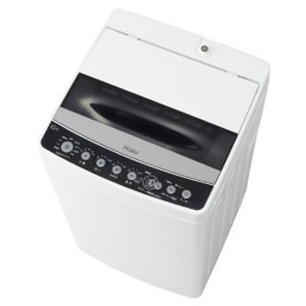 ハイアール 全自動洗濯機 [洗濯4.5kg] JW-C45D-K ブラック