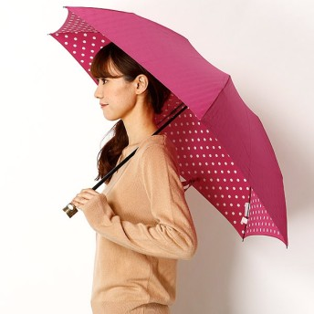 [マルイ]【セール】雨傘(3段/折りたたみ/ミニ)【撥水力◎/UV加工】ドット(レディース/婦人)/マッキントッシュ フィロソフィー(MACKINTOSH PHILOSOPHY)
