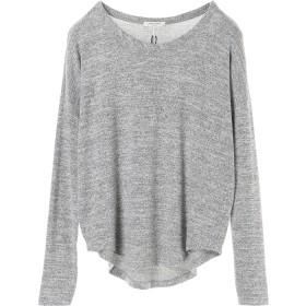 rag & bone HUDSON L/S ウォッシャブル Tシャツ・カットソー,LIGHT GREY