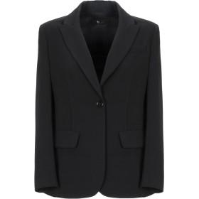 《セール開催中》TWELVE-T レディース テーラードジャケット ブラック 42 ポリエステル 88% / ポリウレタン 12%