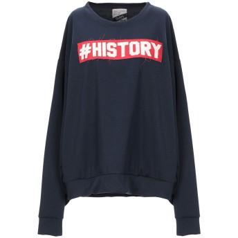 《セール開催中》HISTORY REPEATS レディース スウェットシャツ ダークブルー M コットン 100%