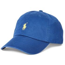 《セール開催中》POLO RALPH LAUREN メンズ 帽子 ブルー one size コットン 100% COTTON CHINO BASEBALL CAP