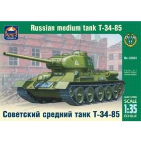 GSIクレオス ark model 1/35 T34/85 ロシア中戦車 プラモデル AK35001