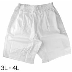 ウエストゴム式半パンツ 3L・4L (和装呉服) (取寄せ)