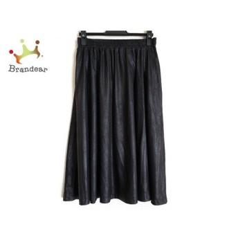 ヒロコビス HIROKO BIS スカート サイズ9 M レディース 黒 スペシャル特価 20190913