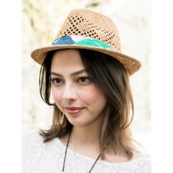 帽子全般 - チャイハネ 【チャイハネ】リゾートペーパー中折れハット