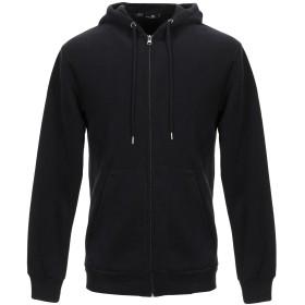 《9/20まで! 限定セール開催中》CATCH メンズ スウェットシャツ ブラック M コットン 96% / ポリウレタン 4%