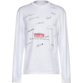《セール開催中》NAPA メンズ T シャツ ホワイト M コットン 100%